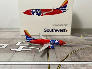 """1/400 Gemini Jets Southwest Airlines B737-7H4WL N922WN """"Tennessee"""""""