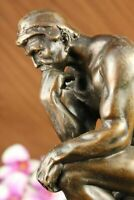 Rodin The Thinker Statue Hot Cast Bronze Fine Art Popular Sculpture Figure Sale