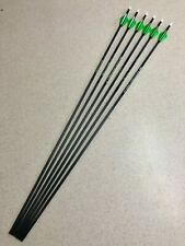Carbon Express 50914 Predator XSD 400 6 pack BULK Carbon Arrows Free Shipping