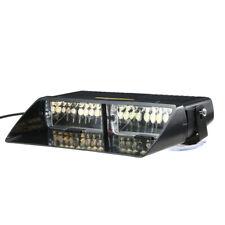 Car 16 LED White Strobe Flash Light Dash Emergency Warning Lamp 18 Mode V7Q5