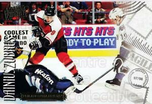 1997-98 Donruss Priority Postcards #34 Dainius Zubrus