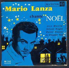 45T NOEL CHRISTMAS MARIO LANZA CHANTE NOËL 45T EP BIEM RCA 86.242