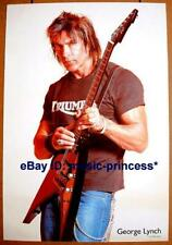 GEORGE LYNCH DOKKEN SIGNATURE ESP TRIBUTE POSTER