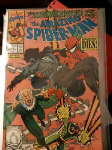 Marvel Comic The Amazing Spider-Man #336 Return of Sinister Six LARSEN Vulture!