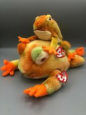 Ty Beanie Buddy and Babies Bundle Prince the Frog Pair Plush Stuffed Animal