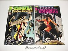 Vampirella 2 Adam Hughes Cover Comic Lot Harris Death Deatruction 2 Vengeance 10