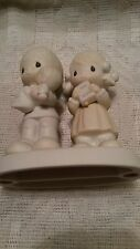 Jonathan & David Rejoicing With You Figurine Holy Bible 1980 Precious Moments