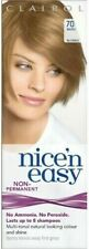 1 x CLAIROL Nice'N Easy 70 beige blonde Non-Permanent No peroxide 8 washes