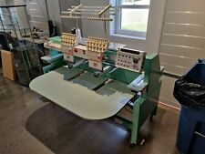 Tajima Tmfxii-C1202 2 two head embroidery machine
