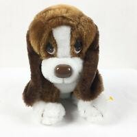 "A118 Vintage Russ Baxter Sad Puppy Hound Dog Plush! 9"" Lovey Stuffed Toy"