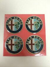 55mm Wheel Center Emblem Set Alfa Romeo Milano Spider fits Center Cap NEW #822