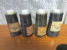 4~Overlock Thread~3000 Yards~Black~Serger Thread Cones 100% Polyester