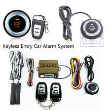 8 Pcs Car SUV Alarm Start Security System Keyless Entry Engine Start Push Button