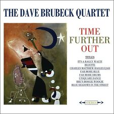 2 CD DAVE BRUBECK QUARTET TIME FURTHER OUT THE RIDDLE IT'S A RAGGY WALTZ ETC