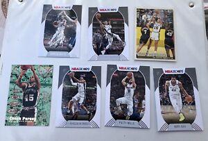Lot #3 San Antonio Spurs NBA Panini Hoops : Derrick White, LMA, Patty Mills,...