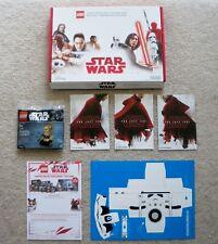 LEGO Star Wars Promo - Rare - w/ 40176 & Origami Stormtrooper - New (open box)