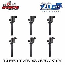 New Ignition Coil 2000-2011 Escape 500 Freestyle Tribute Mariner V6 DG500 6pcs