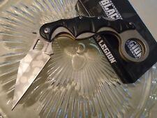Black Legion Pocket Hook Open Folding Karambit Dagger Pocket Knife Premium 496