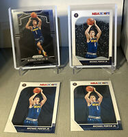 2019 Michael Porter Jr Prizm Winter Hoops And Base Lot Of 3