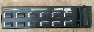 Digitech Control One MIDI Foot Controller Pedal w/ 12 Switches No Power Supply