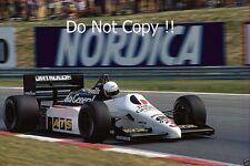 Martin Brundle Tyrell 015 Hungarian Grand Prix 1986 Photograph