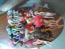 Bundle of 22 Naked Monster High dolls