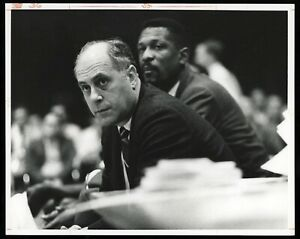 Red Auerbach 1969 Celtics Russell Malcolm Emmons Type 1 Original Photo PSA/DNA
