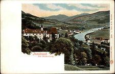 Innsbruck Österreich Tirol ~1900 Partie Die Weiherburg Burg Litho-AK Austria
