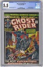 Marvel Spotlight #5 CGC 5.5 VINTAGE Comic KEY 1st Ghost Rider & Rosanne Simpson