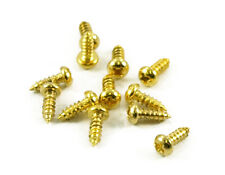 Gold Truss Rod Screws 12pc fits Gibson USA Dean guitars,super short.