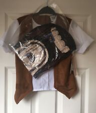 Roald Dahl BFG Kids Fancy Dress 7-8years World Book Day Childrens Outfit Smiffy