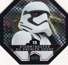 JETON COLLECTOR 2016.STAR WARS. STORM TROOPER 1ER ORDRE.  N° 15. COSMIC SHELLS
