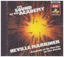 SOUND OF THE ACADEMY Neville Marriner, ASMF (CD, 1987,  EMI Angel)