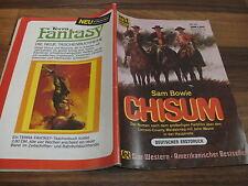Sam Bowie -- CHISUM // Star Western  # 181 / von 1975 mit Billy the Kid
