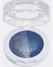 Hard Candy Sombra de ojos Ojo Sombra Baked Duo hacer creer Plata Azul #261 Nuevo