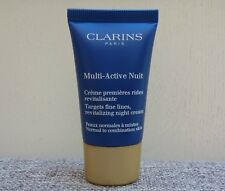 1x CLARINS Multi-Active Night Targets Fine Lines Revitalizing Night Cream 15ml