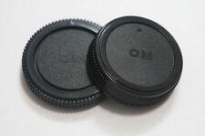 Cuerpo y posterior del objetivo Caps Para Olympus OM Monte vendedor del Reino Unido