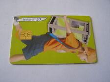 télécarte cabine bagage garcon 1 50u ref phonecote F1322B