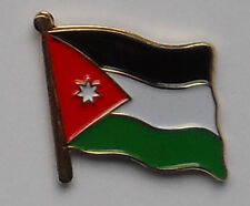 Jordan Country Flag Enamel Pin Badge