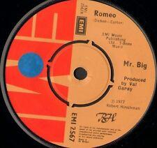 "MR BIG romeo 7"" WS EX/ uk emi EMI 2567"