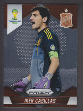 Panini Prizm Copa del Mundo 2014 Brasil-Iker Casillas # 170 base-España