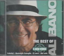 Al BANO THE BEST OF CD NUOVO FELICITA Nostalgia canaglia IC sieri nel sole