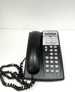 Avaya 6D-0003 Phone made in Malaysia 081702532173 Black Office