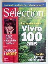 SÉLECTION DU READER'S DIGEST DE AOÛT 2005, EN COUVERTURE VIVRE 100 ANS