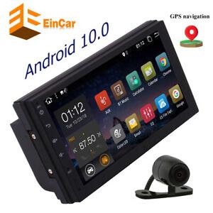 Car Radio GPS Bluetooth Double 2 Din Stereo Backup Camera Steering wheel control