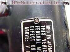 Honda CB 250 350 450 500 rivets set pour plaque signalétique 90841-001-000