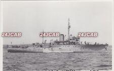 "Photograph Royal Australian Navy. HMAS ""Bundaberg"" Corvette. Sydney. Rare!  1942"