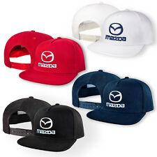 Mazda 5 Panel Kappe GESTICKTE Auto Logo Snapback Mütze Hut Baseball Cap Hip Hop