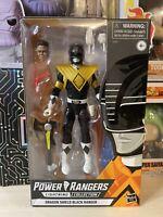 Power Rangers Lightning Collection Dragon Shield Black Ranger walgreens exclusiv