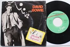 """DAVID BOWIE ITALY 7"""" ABSOLUTE BEGINNERS"""